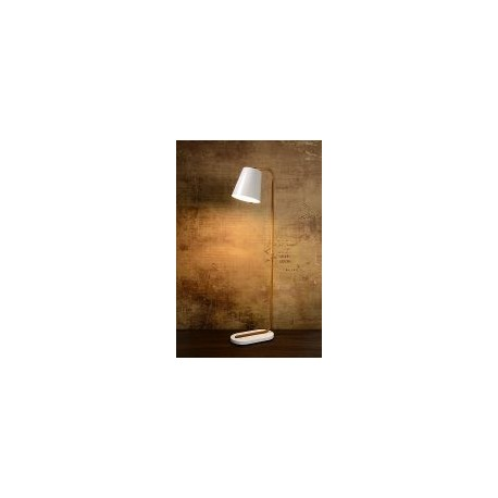 Lucide CONA oprawa stołowa E27 L38 W21 H140cm White 71745/01/31