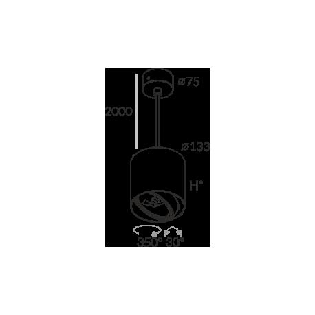 Labra PROXA MOVE H230 ZW QR111 5-0847 Wisząca