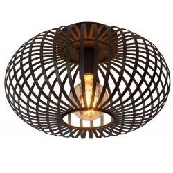 Lucide MANUELA Plafon Light 1xE27 40cm Czarny 78174/40/30