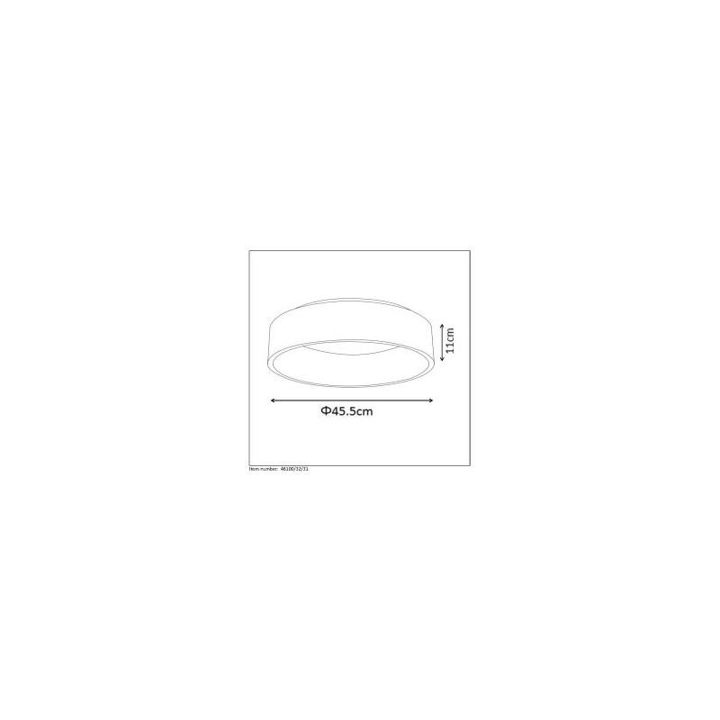 Lucide TALOWE LED D45cm 32W 3000K Biały 46100/32/31 Plafon