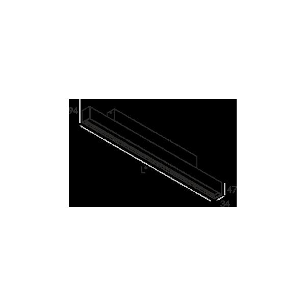 Labra RAY NT.1134mm 23W 6-0616 Sufitowa