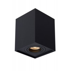 Lucide TUBE Reflektor sufitowy 1xGU10 czarny 22953/01/30