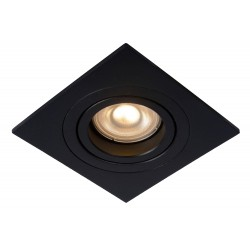 Lucide TUBE Wpust 1xGU10 czarny 22955/01/30