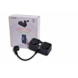 AZZARDO SMART Listwa zasilająca zewnętrzna WiFi 16A IP44 AZ3223
