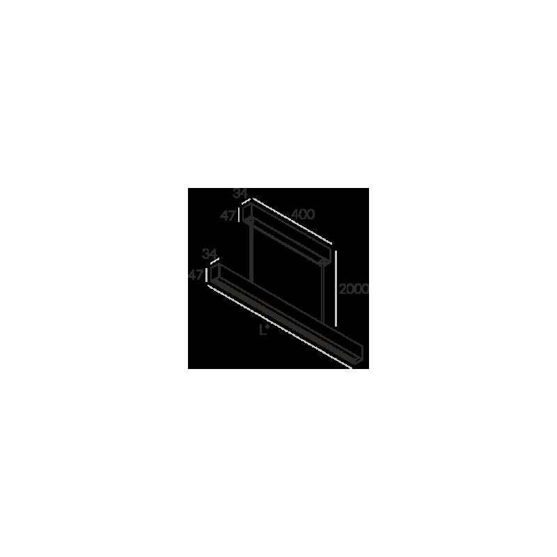Labra RAY ZW.1414mm 57W 6-0629 Wisząca