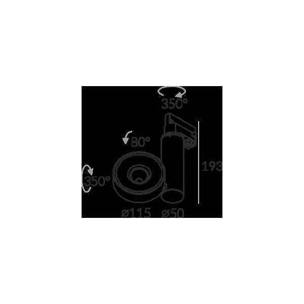 Labra ROBOTIC R1 edge.LED 13W Adaptor 3F 7-0711