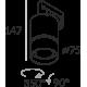Labra GEIT MINI - Adaptor 3F 7-0313