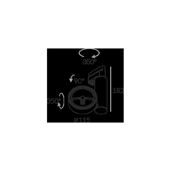 Labra ROBOTIC R1 50W - Adaptor 3F 7-0139