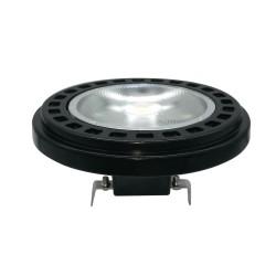 OXYLED LEDSPOT AR111 15W 30O 3000K Czarny 450281