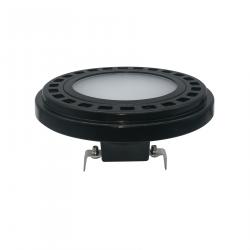 OXYLED LEDSPOT AR111 9W 120° 4000K Czarny 458003