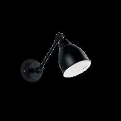 Ideal Lux NEWTON Kinkiet czarny 027852