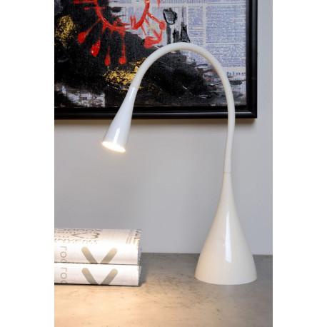Lucide ZOZY Biurkowa LED 3W 3000K 300LM H48cm White 18650/03/31