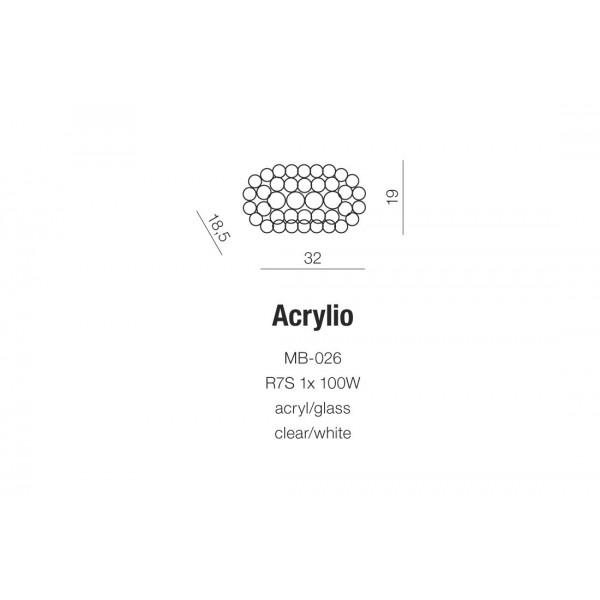 AZzardo ACRYLIO Kinkiet AZ0052