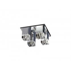 Azzardo BOX 4 4xG4 Sufitowa Przeźroczysty AZ0178