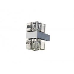 Azzardo BOX 2 2xG4 Ścienna Przeźroczysty AZ0035
