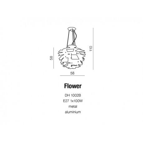 AZzardo Flower Wisząca AZ0097