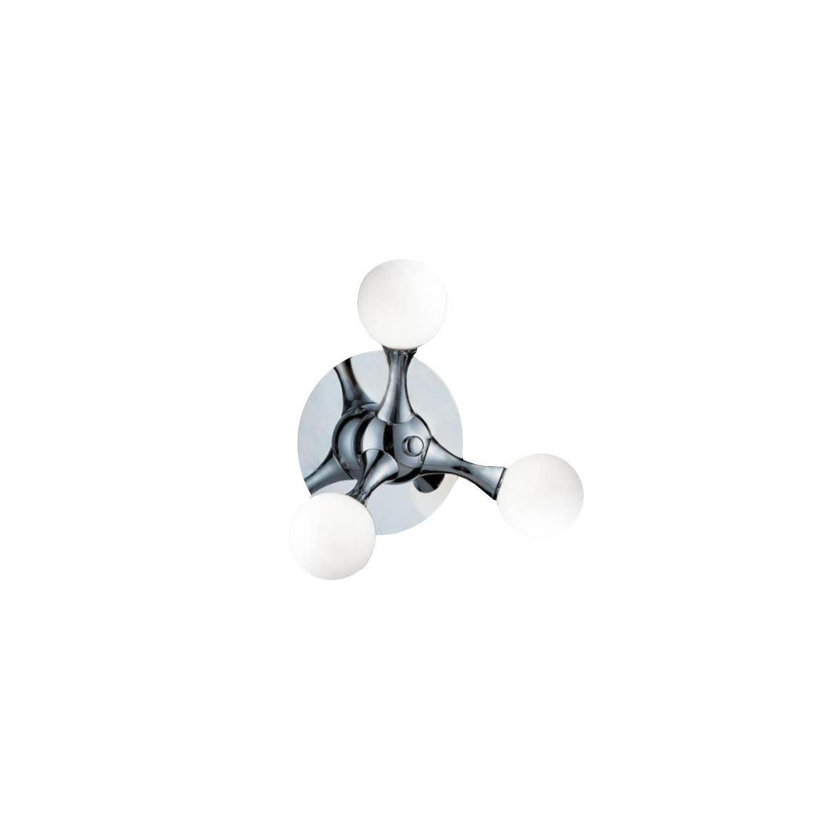 Azzardo NEURONO WALL 3xG4 Ścienna Biały/Chrom AZ0108