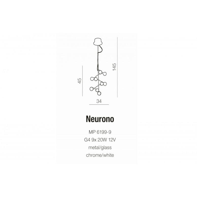 AZzardo NEURONO MP 6199-9 Wisząca