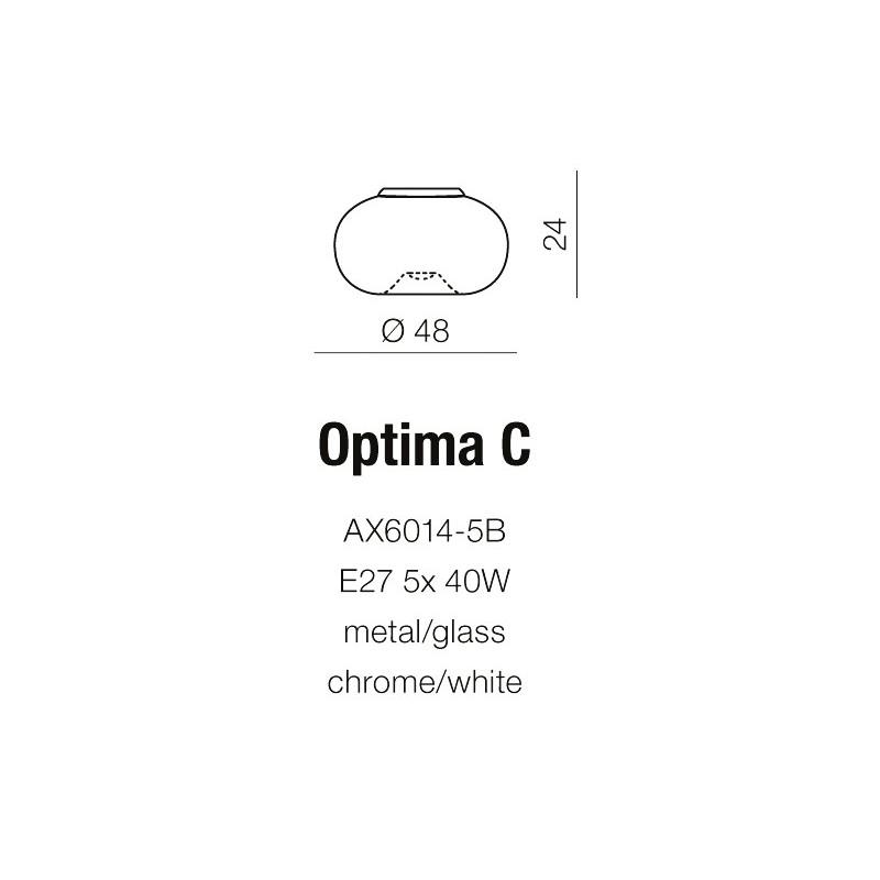 AZzardo OPTIMA C Ścienna AZ0183