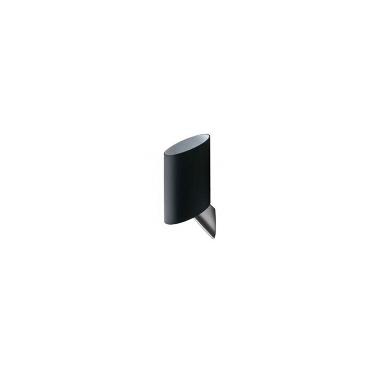 Azzardo ROSA BLACK 1xE14 Ścienna Czarny AZ0144