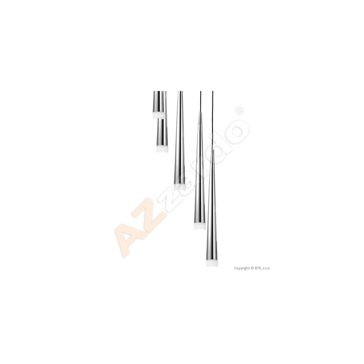 Azzardo STYLO 8 CHROM 8xG9 Wisząca Chrom AZ0257