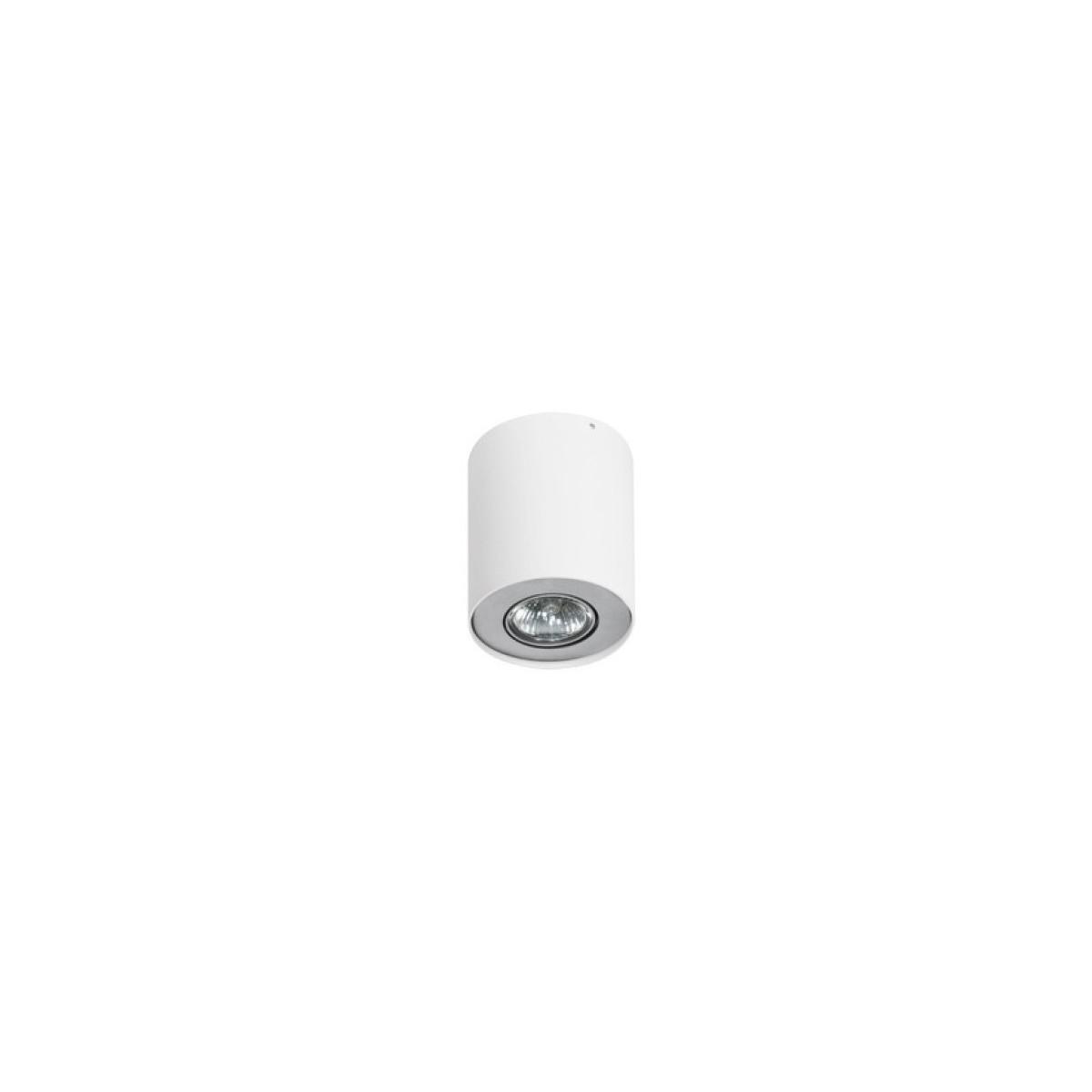 Azzardo NEOS 1 WHITE/ALUMINIUM 1xGU10 Natynkowa Biały/Aluminium AZ0606