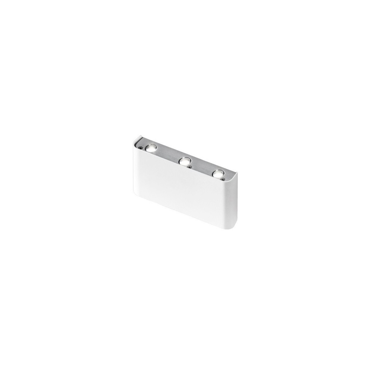 Azzardo GINNO 3 WHITE/ALU 6xLED Ścienna Aluminium AZ0763