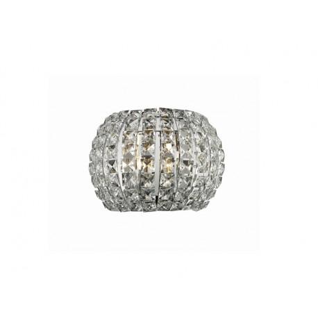 Azzardo SOPHIA WALL 2xG9 Ścienna Przeźroczysty/Kryształ AZ2520