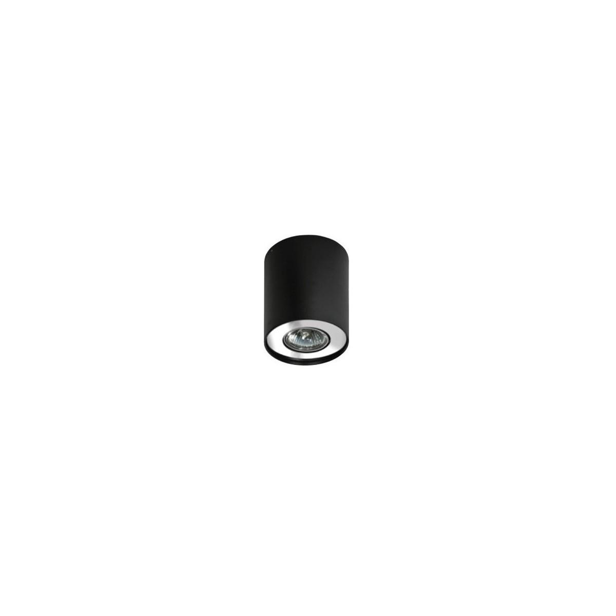 Azzardo NEOS 1 BLACK/CHROME 1xGU10 Natynkowa Czarny/Chrom AZ0708