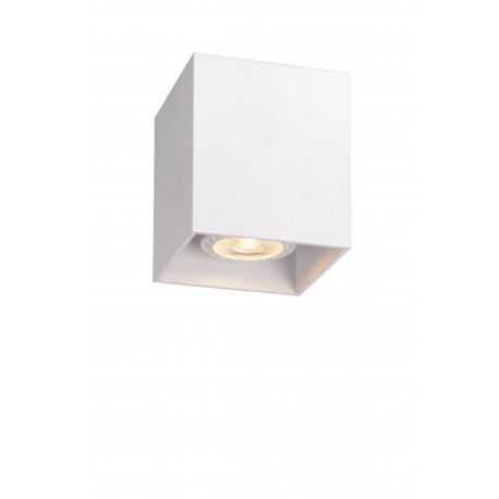 Lucide BODI Square GU10 excl D8.2 H9.5cm Wh 09101/01/31 Plafon