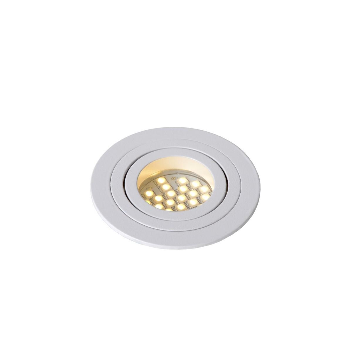 Lucide TUBE Spot Round D9cm GU10 Biały 22954/01/31 Wpust