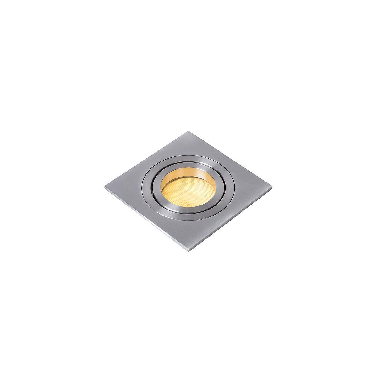 Lucide TUBE Spot Squere D9cm GU10 Alu 22955/01/12 Wpust
