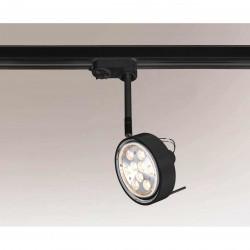 Shilo FUSSA 6601 GU10 Czarny Reflektor do szynoprzewodu