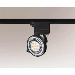 Shilo SAKURA 6606 GU10 Czarny Reflektor do szynoprzewodu