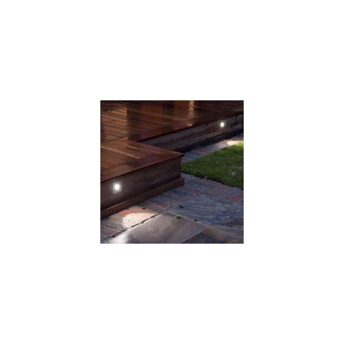 Astro Tango LED 3000K Schodowa 1x1W LED Polerowana Stal Nierdzewna IP65 1175005