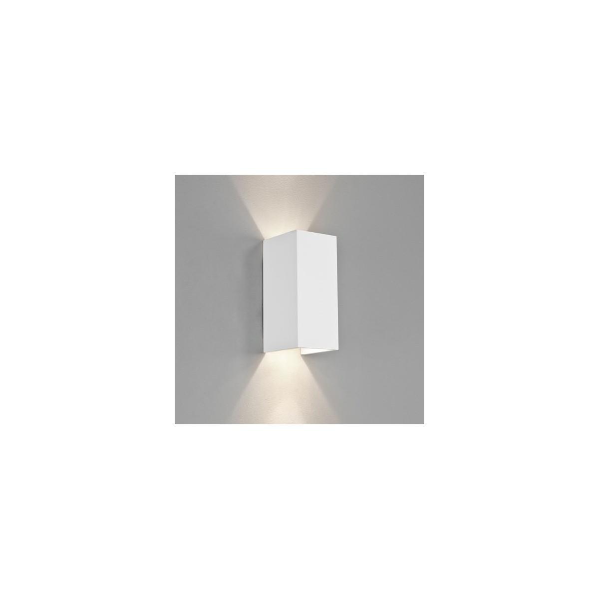Astro Parma 210 Ścienna 2x6W Max LED GU10 Gips 1187003