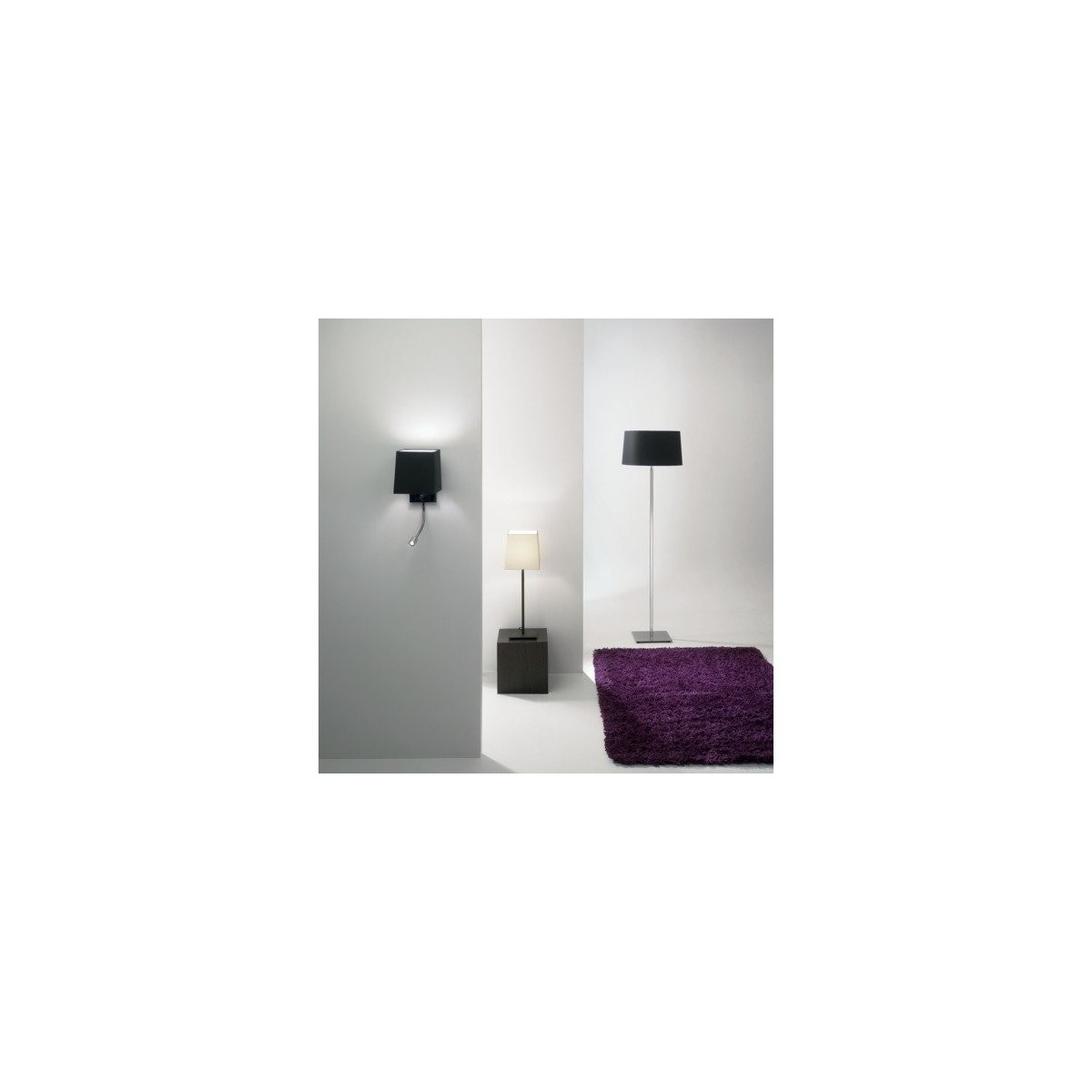 Astro Tapered Square 210 Abażur Biały 5003001