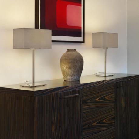 Astro Park Lane Table Stołowa 1x60W Max E27 Matowy Nikiel 1080016