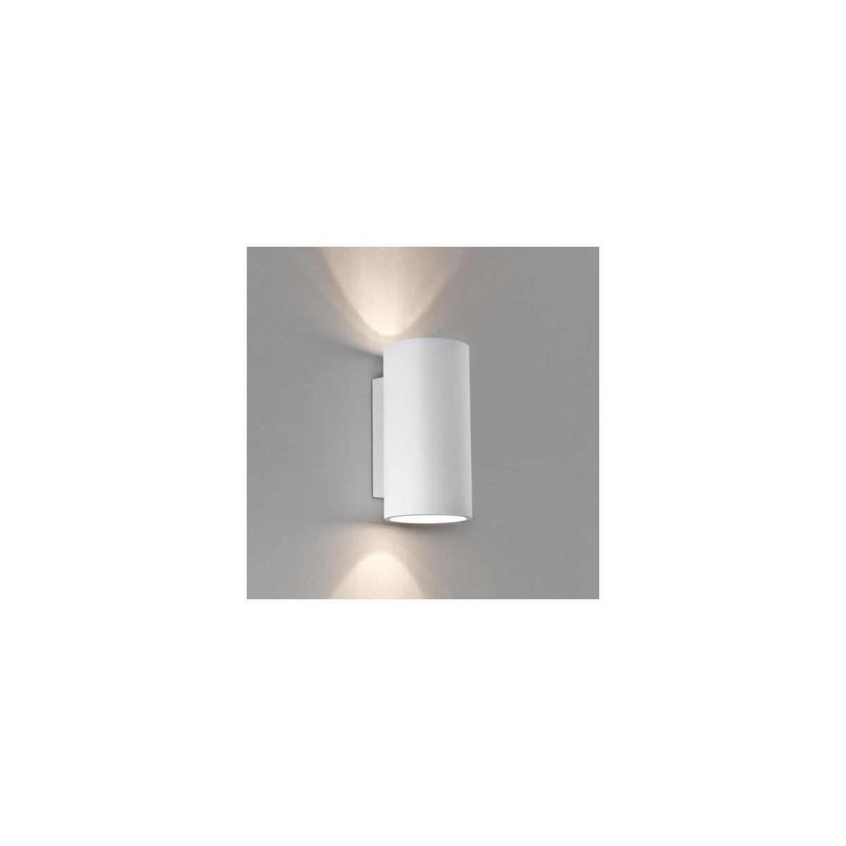 Astro Bologna 240 Ścienna 2x6W Max LED GU10 Gips 1287002
