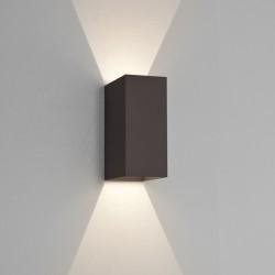 Astro Oslo 160 LED Ścienna 6W LED Czarny Struktura IP65 1298002