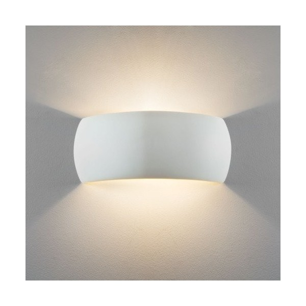 Astro Milo Ścienna 1x60W Max E27 Ceramika 1299001