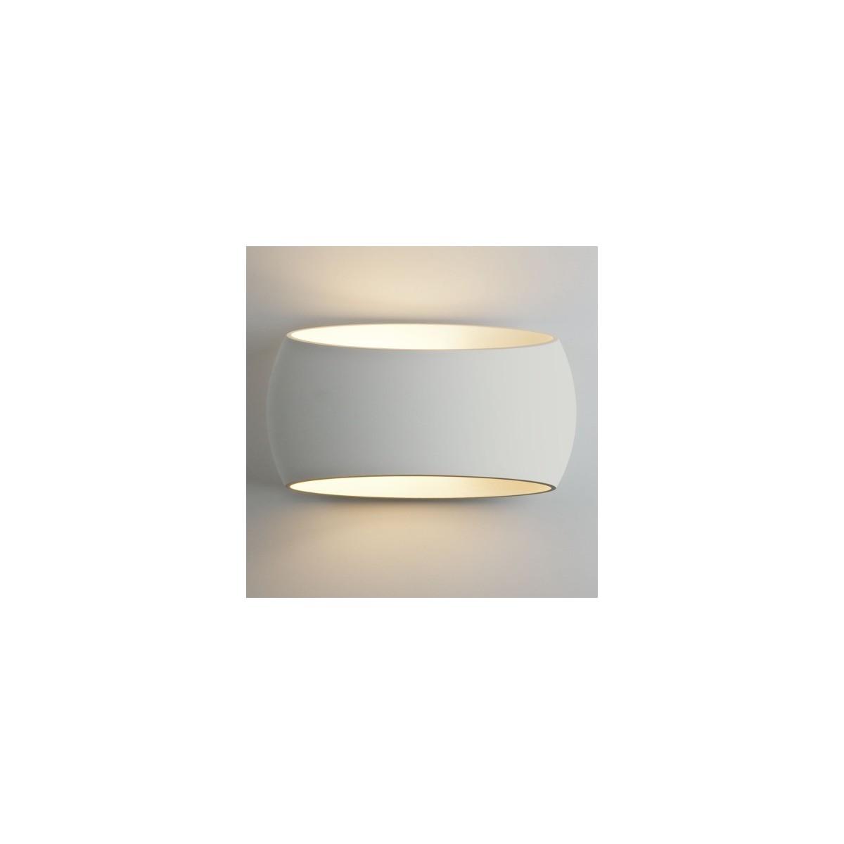 Astro Aria 300 Ścienna 1x12W Max LED E27 Gips 1300001