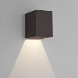 Astro Oslo 100 LED Ścienna 3.8W LED Czarny Struktura IP65 1298004