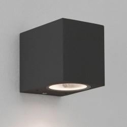 Astro Chios 80 Ścienna 1x6W Max LED GU10 Czarny Struktura IP44 1310002