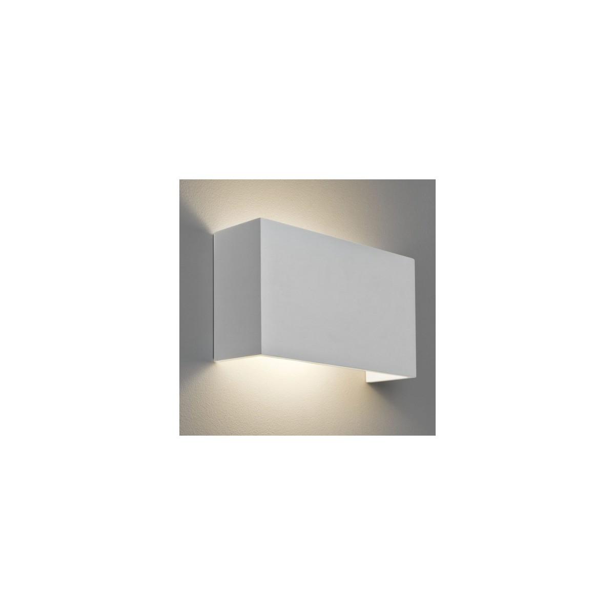 Astro Pella 325 Ścienna 1x12W Max LED E27 Gips 1315001
