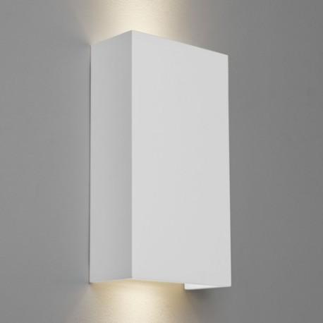 Astro Pella 190 Ścienna 2x6W Max LED GU10 Gips 1315002