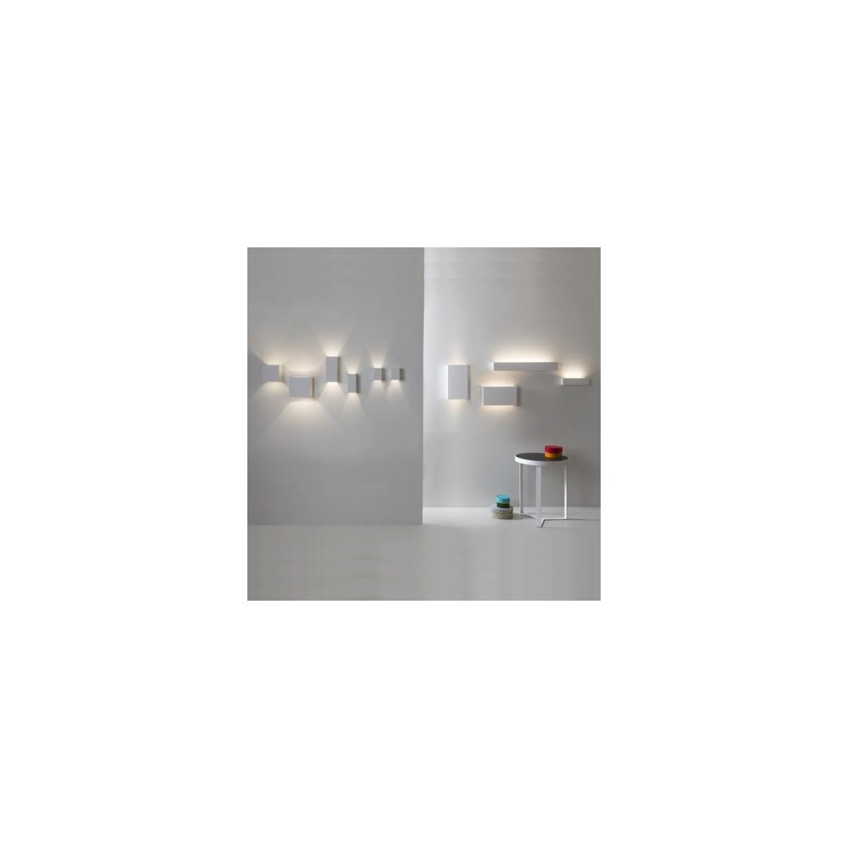 Astro Pienza 165 Ścienna 1x12W Max LED E27 Gips 1196003
