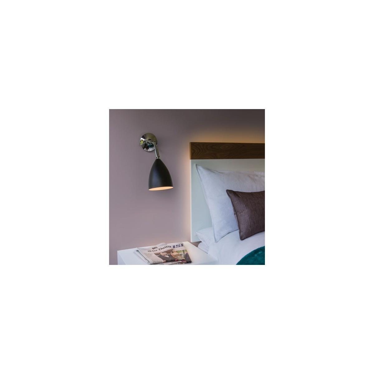 Astro Joel Wall Do Czytania 1x42W Max E27 Czarny Mat 1223014
