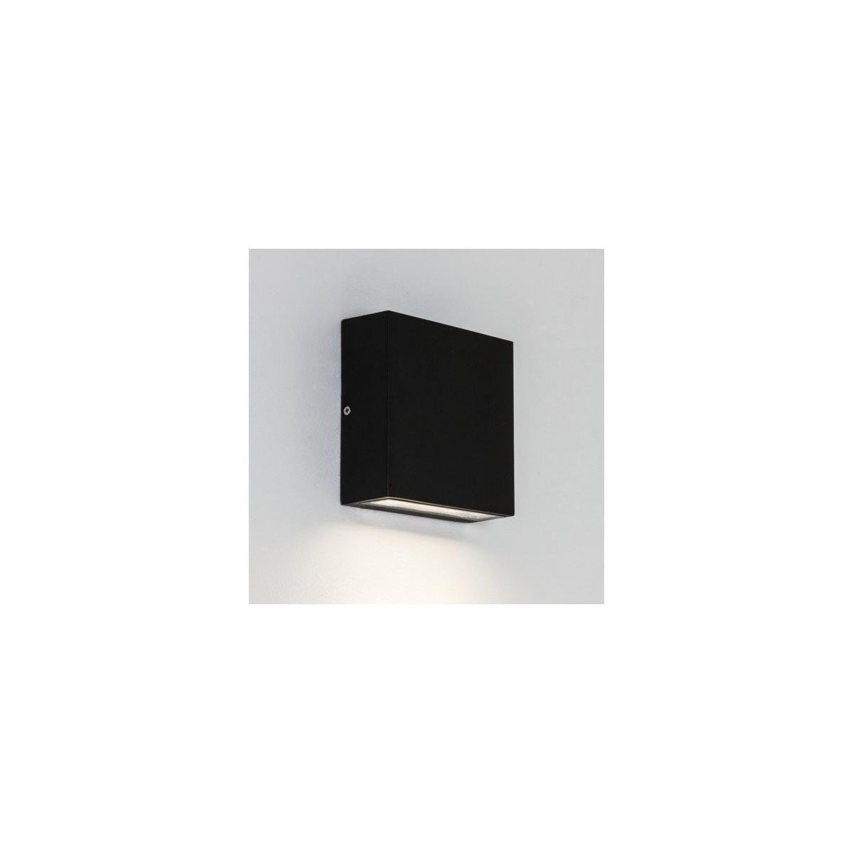 Astro Elis Single LED Ścienna 4.7W LED Czarny Struktura IP54 1331001