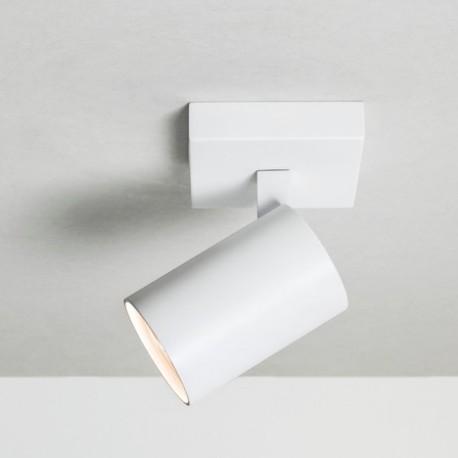 Astro Ascoli Single Reflektor 1x50W Max GU10 Biały Struktura 1286001